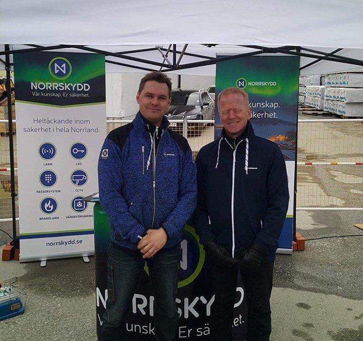 Vi ställer ut på byggmässsan i Örnsköldsvik …