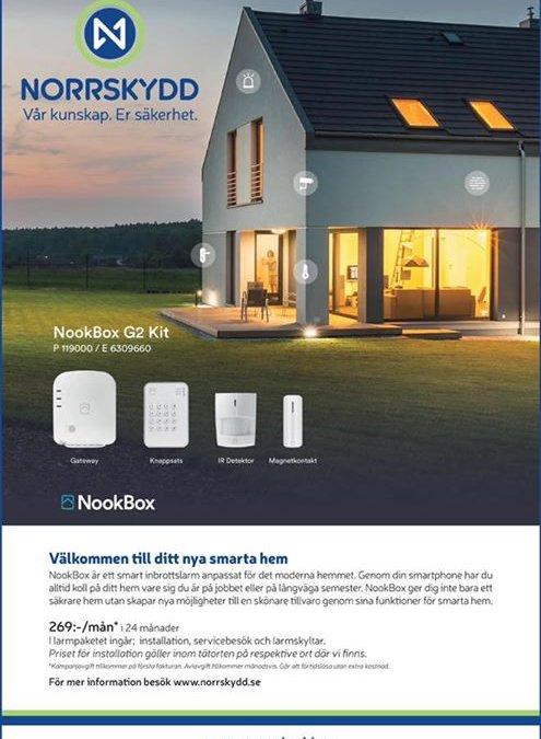 Håll koll på ert hus i höstmörkret med Nookbox …