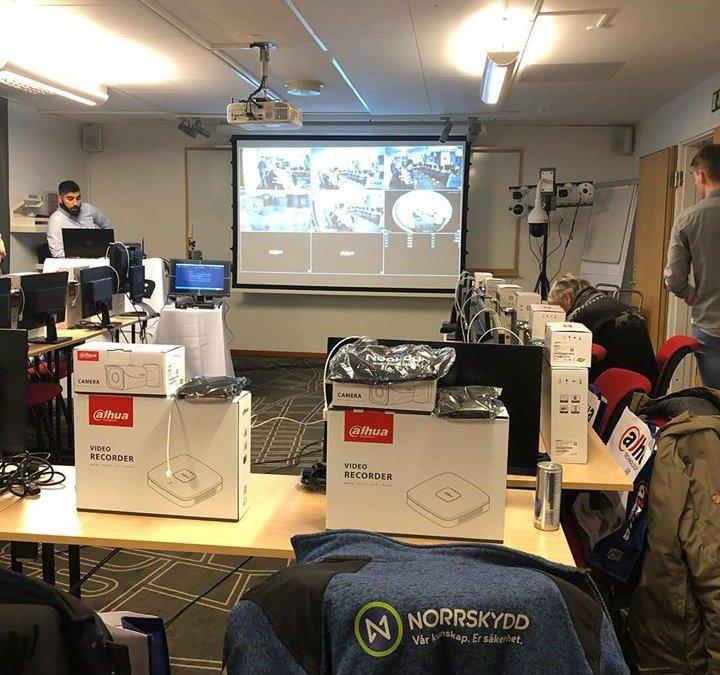 Utbildning idag på cctv. #norrskydd #teletec …