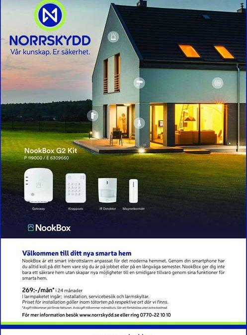 Håll koll på ert hus i sommar med Nookbox …